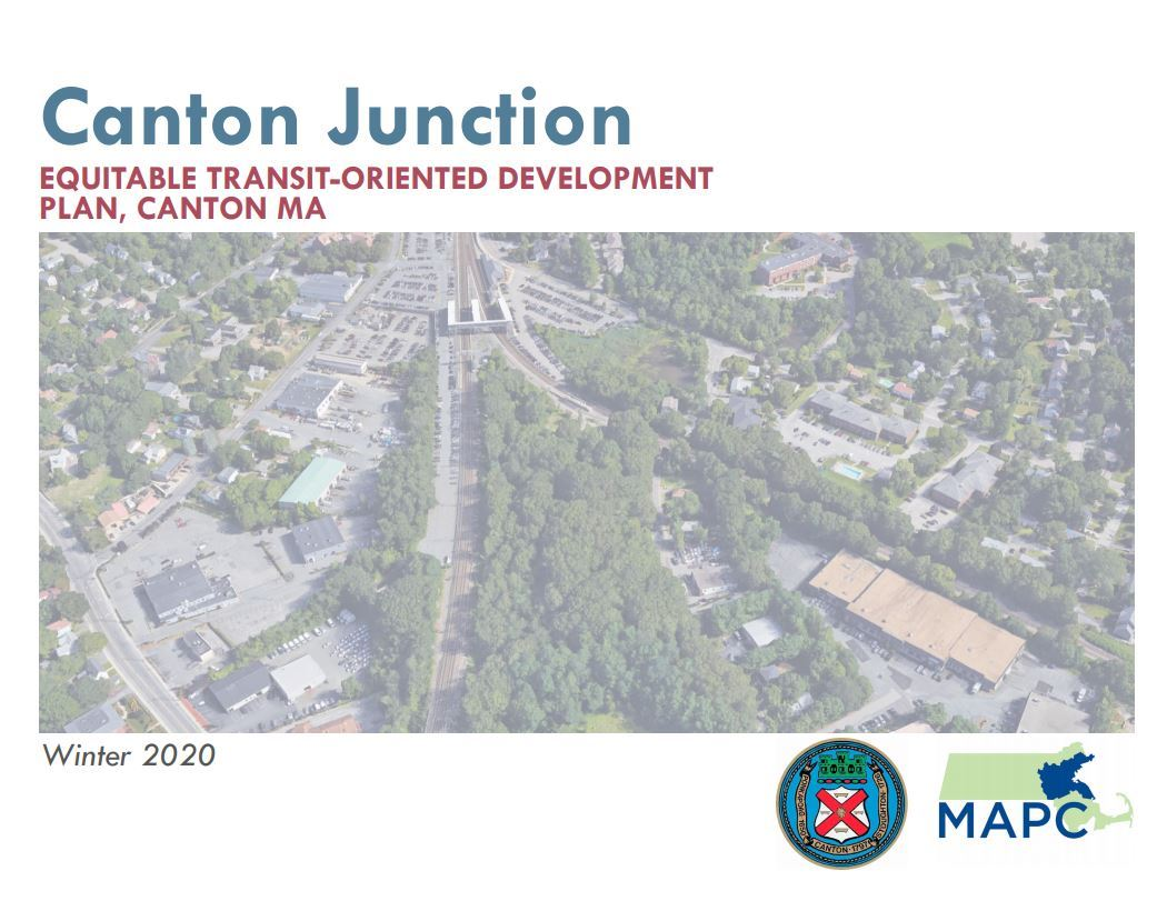 Canton Junction ETOD plan cover