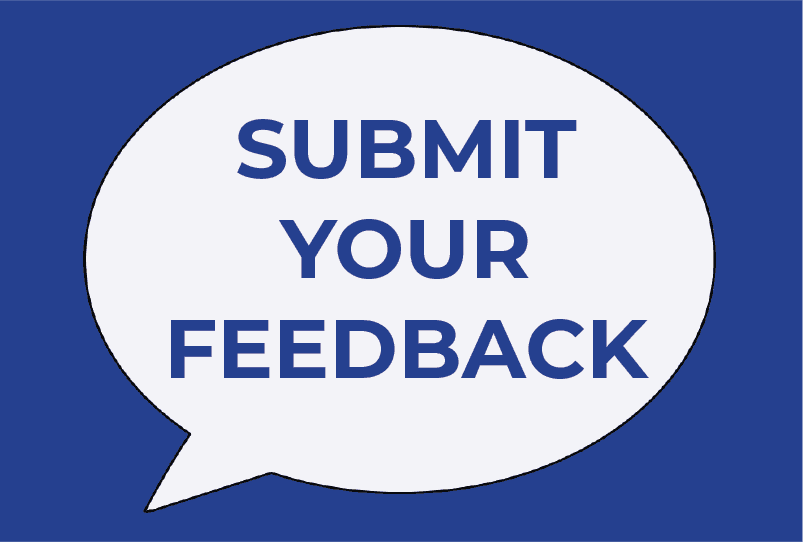 Submit Your Feedback Bubble